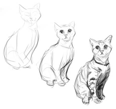 Drawing animals: seeing and simplifying | The Story Elves - Help with writing, editing, illustrating and designing your own stories