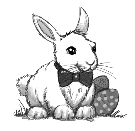 Drawing an irresistible Easter bunny | The Story Elves - Help with writing, editing, illustrating and designing your own stories