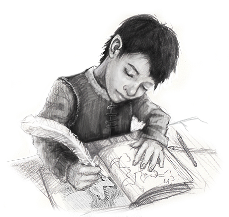 Keep a sketchbook | The Story Elves - Help with writing, editing, illustrating and designing your own stories